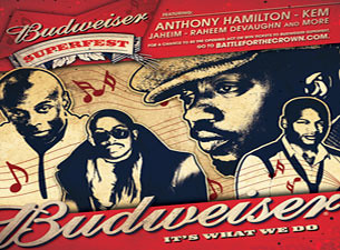 Budweiser Superfest Tour - Washington, D.C.