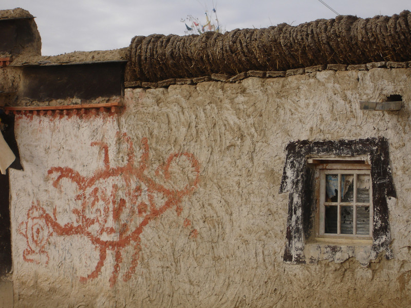 a home outside of Lhasa