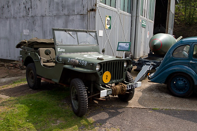 Willys MB and Ford GPW Jeeps