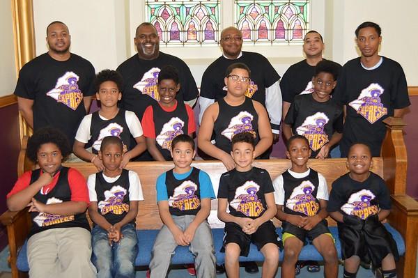 2016 Westend Baptist Church Basketball