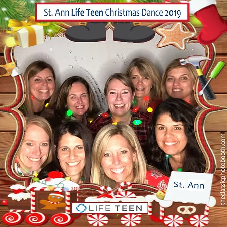 St Ann Life Teen Christmas Party 12.08.19