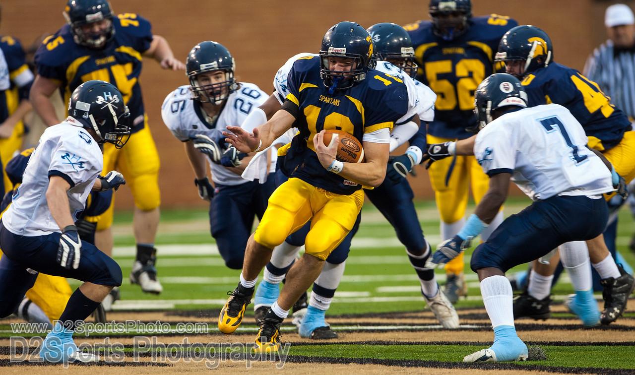 Mt Tabor  Spartans vs Wilmington Hoggard Vikings Varsity Football