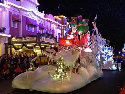 Magic Kingdom Christmas Parade