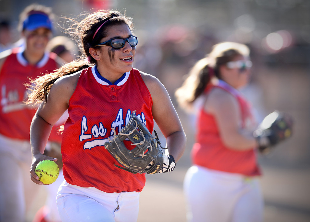. Los Altos defeats West Covina 4 to 3 Thursday, May 15, 2014 at West Covina High School. (Photo by Sarah Reingewirtz/Pasadena Star-News)