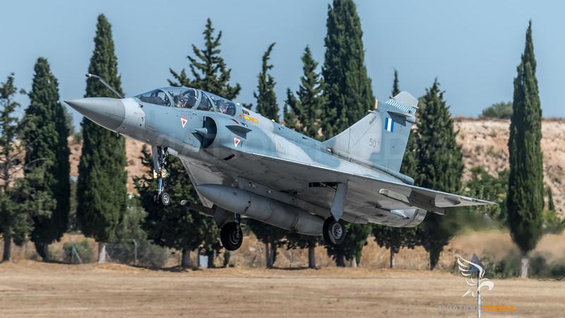 HAF 331 Mira / Dassault Mirage 2000-5 B Mk.2 / 507