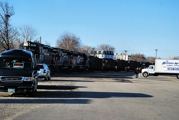 Nashua Coal Train derailment