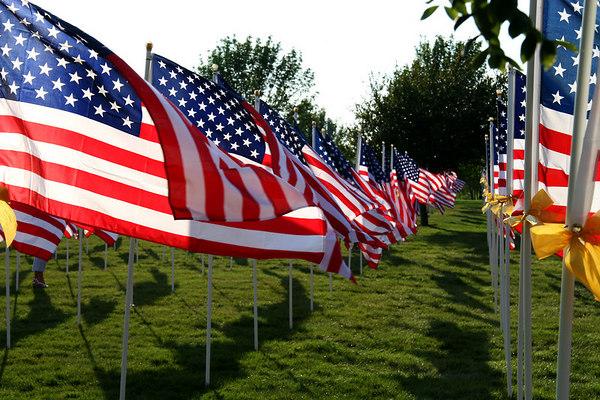 Healing Field Des Moines 9.11 Memorial