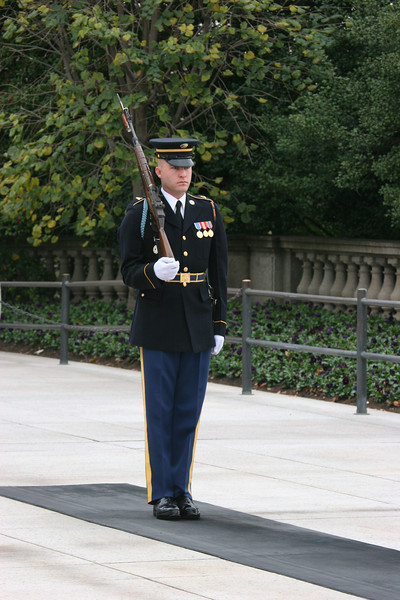 preparing for the changing of the guard