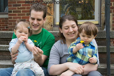 Finkbeiner Twins - 11 months