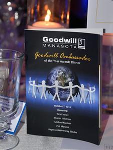 Goodwill Ambassador of the Year Awards Dinner