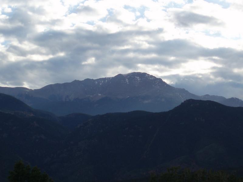 JULY 1: Pike's Peak (I think?)