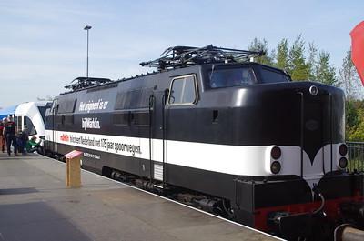 EETC 1252 Marklin zwart 175 jaar NS Amersfoort 18 oktober 2014
