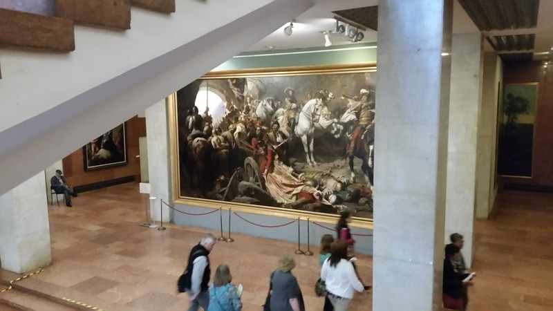 The Hungarian National Gallery, Hungary's national art museum