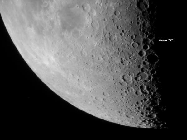 Lunar X Oct 25 2009