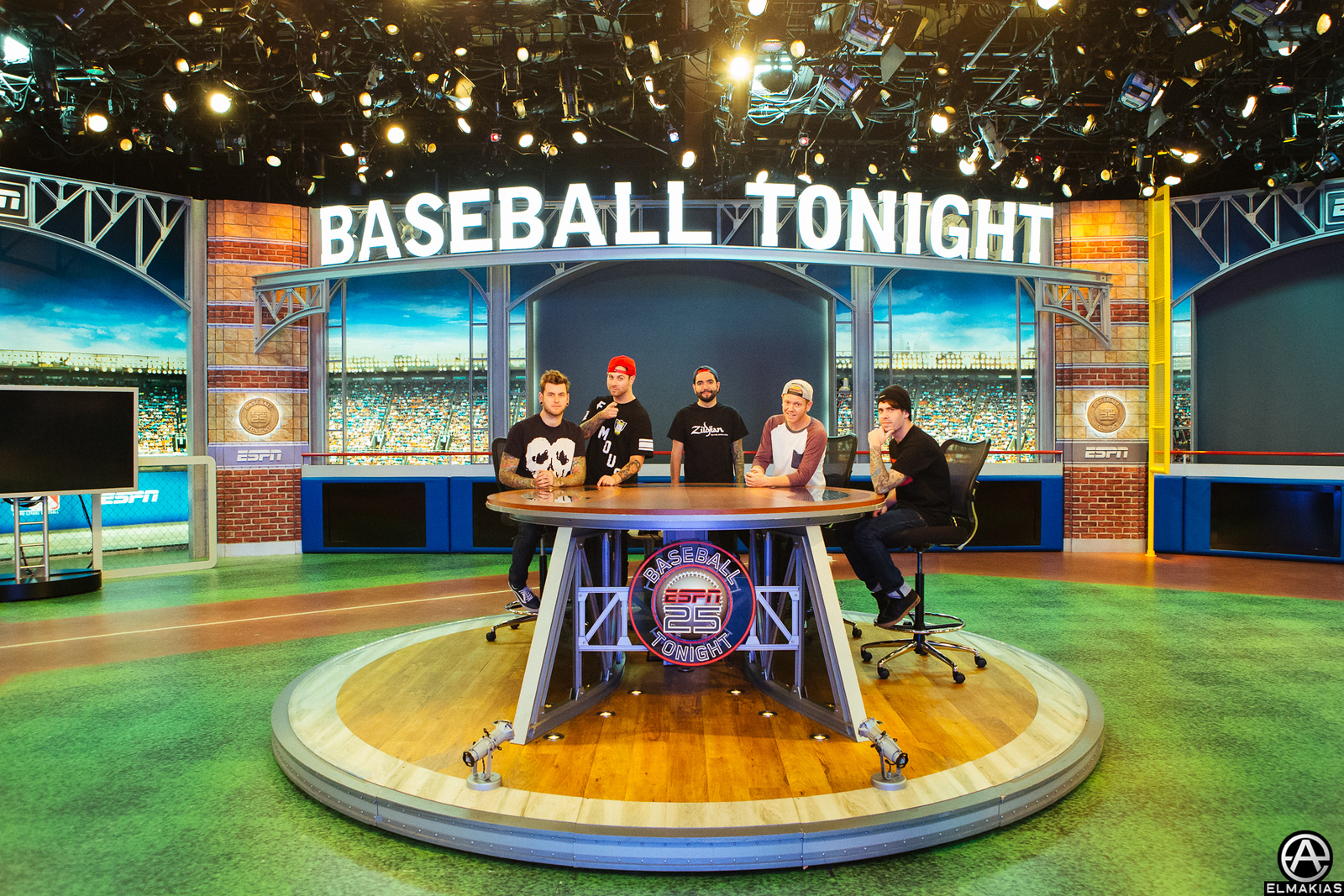 ESPN with A Day To Remember by Adam Elmakias