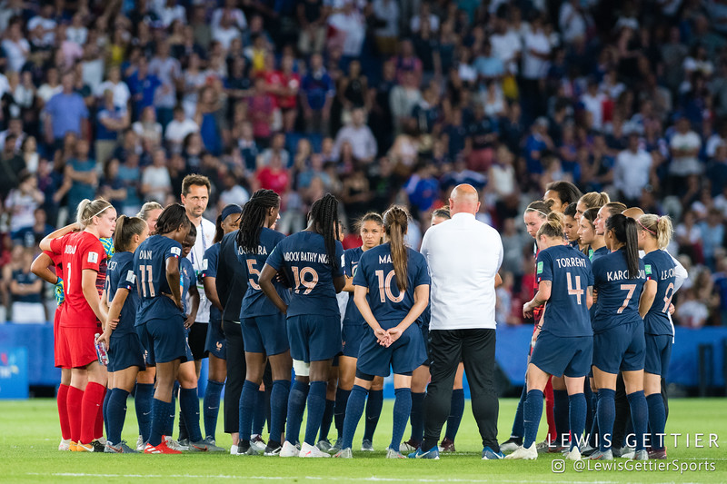 2019 FIFA Women's World Cup - France vs USWNT