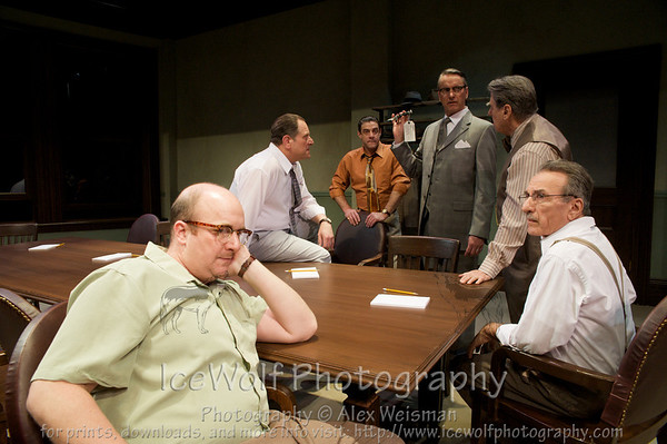 """Twelve Angry Men"" Publicity Photos"