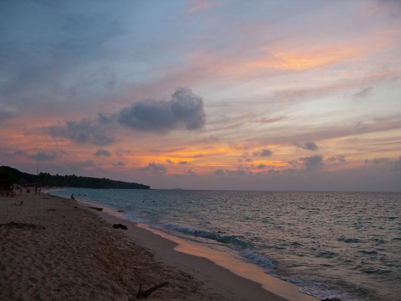sunset playa blanca