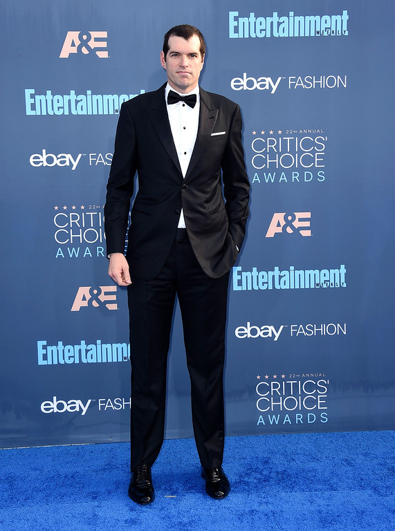 . Timothy Simons arrives at the 22nd annual Critics\' Choice Awards at the Barker Hangar on Sunday, Dec. 11, 2016, in Santa Monica, Calif. (Photo by Jordan Strauss/Invision/AP)