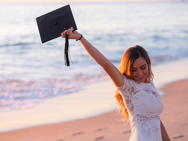 Becca Graduation Point Loma 2020