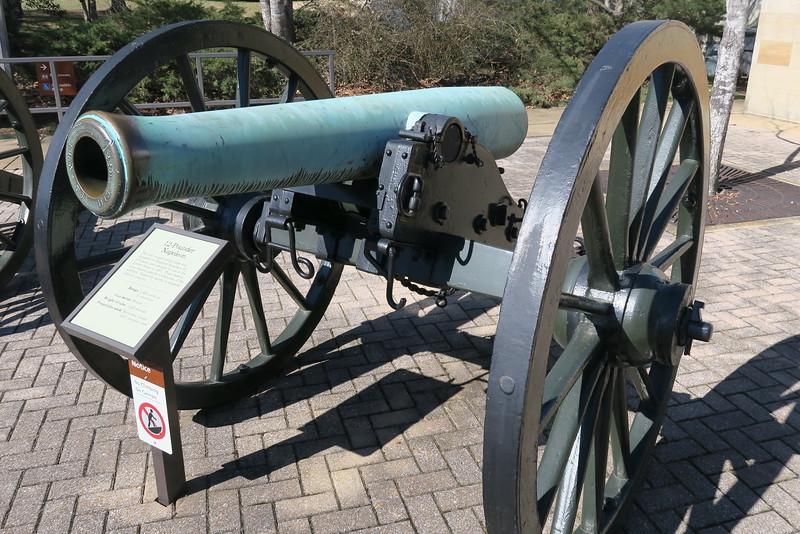 Chickamauga Visitor Center - 12-pounder Napoleon