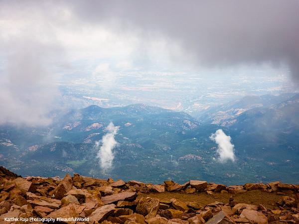 Pikes Peak 14115ft Colorado