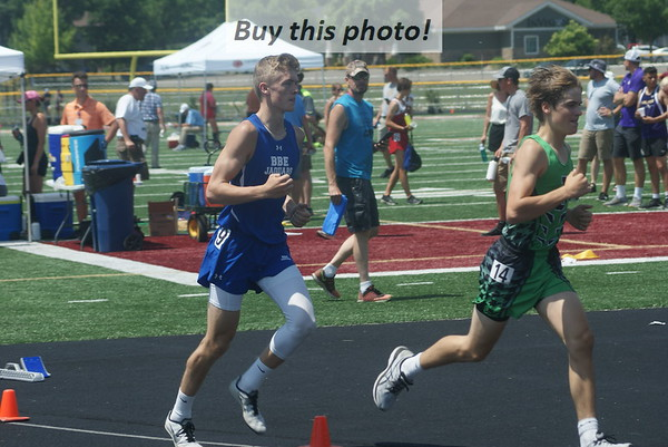 BBE track/field at Section 6A meet 06-10
