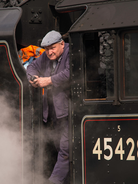 The North Yorkshire Moors Railway at Grosmont, N Yorkshir