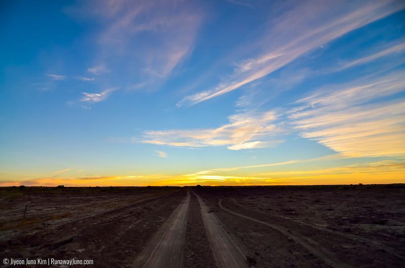 Bedourie Sunset
