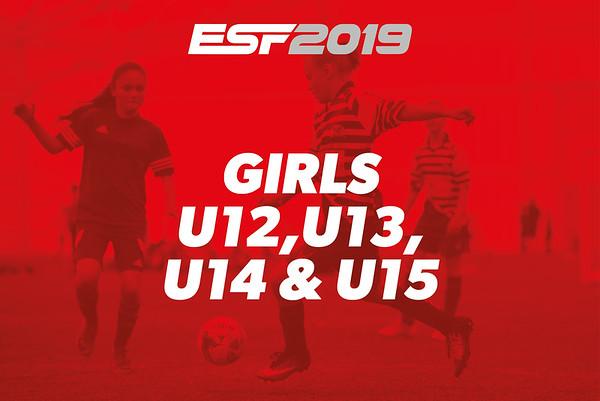 GIRLS U12, U13, U14 & U15