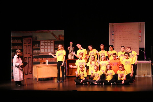 'My Homework Ate the Dog' - Middle School Play - KCMS - 1/11/17