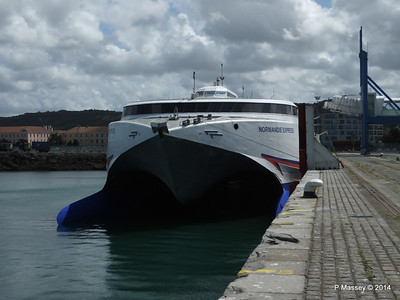 NORMANDIE EXPRESS at Cherbourg 11 Aug 2014