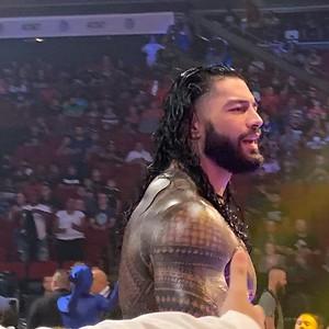 Roman Reigns - Fan Candids / Smackdown July 16, 21