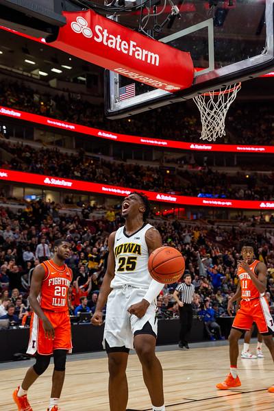 Big Ten Tournament Iowa vs Illinois
