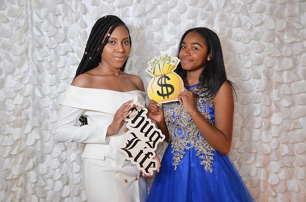 Felica Rincon de Gautier Institute 2018 Prom Photo Booth Pictures