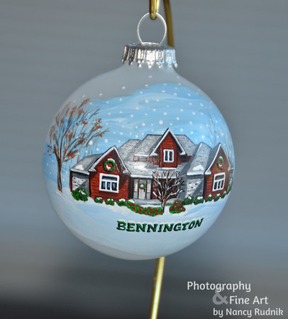 """""""Home for the Holidays"""" Christmas Ornaments"""