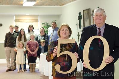 Steve & Sybil 50 YEARS!