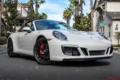 Porsche Targa - Full STEK DYNOShield PPF and CQFR Coating