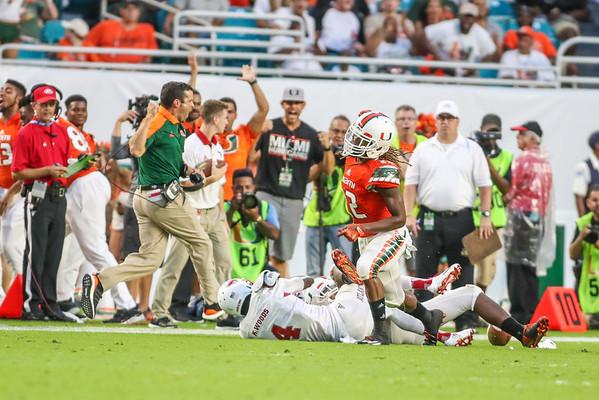 Florida Atlantic University vs. University of Miami
