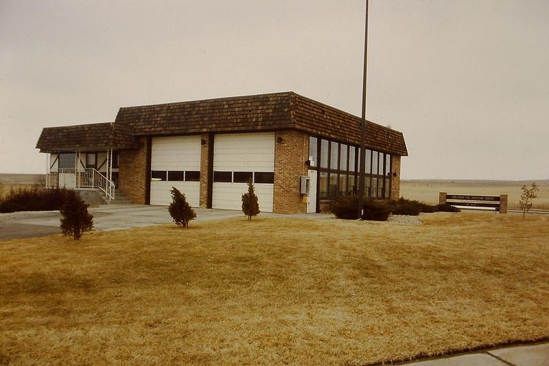 Original Station 34, looking northeast toward Park Meadows