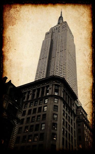 Apocalyptic skyscraper