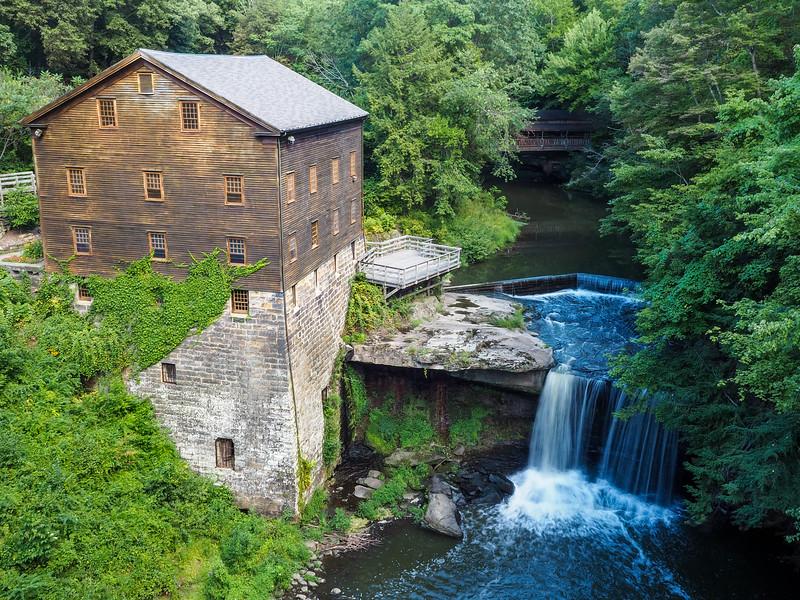 Lanterman's Mill in Mill Creek Park