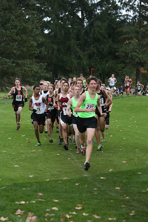 XC Regionals Boys D1 Grand Traverse Resort 1/2 Mile