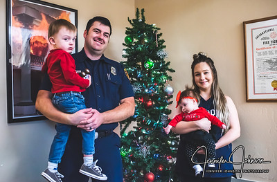 Fire Station Department 15 Christmas 12/25/19