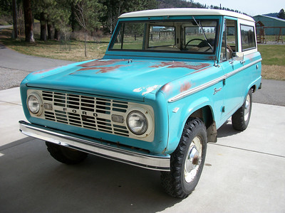1967 Ford Bronco - SOLD