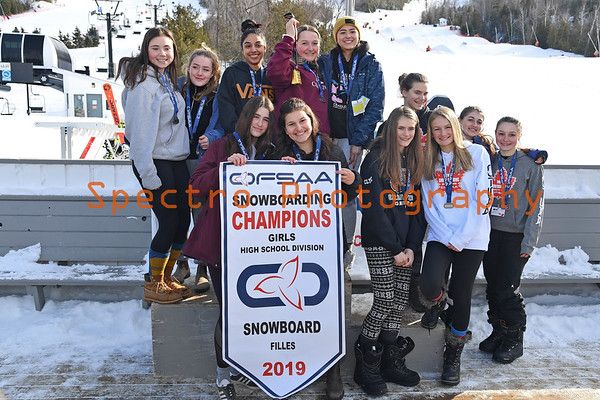 OFSAA Snowboarding 2019 Awards