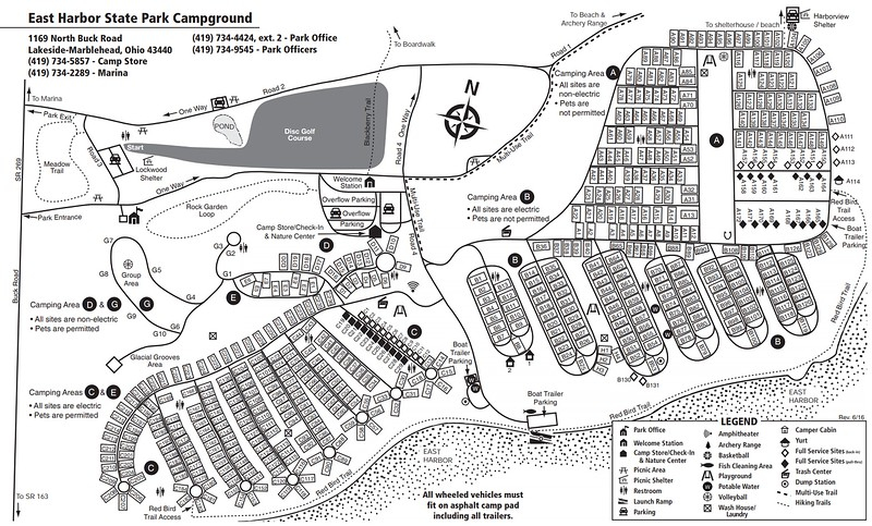 East Harbor State Park (Campground Map)