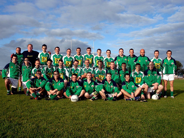 ST Killians Whitecross who played Cullaville Blues in the Intermediate Football Final in Crossmaglen on Sunday Evening. 07W35N251