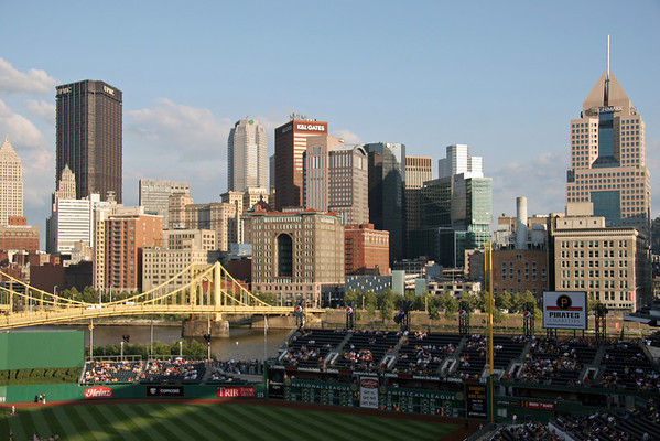 BASEBALL PARKS - PNC PARK - PITTSBURGH PIRATES