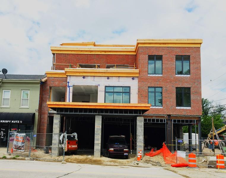 Princess Theater Building Progress